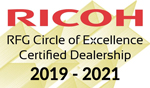 Ricoh Circle of Excellence 2019-2021